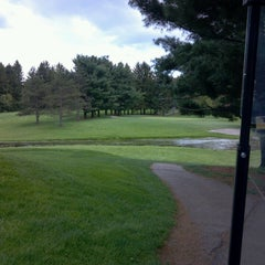 Photo taken at Kent State Golf Course by Aaron K. on 5/12/2013