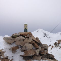 Photo taken at вр. Безбог, 2645м / Bezbog peak, 8677ft by Iordan N. on 3/2/2013