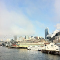 Photo taken at Seattle Ferry Terminal by Tim S. on 2/10/2013