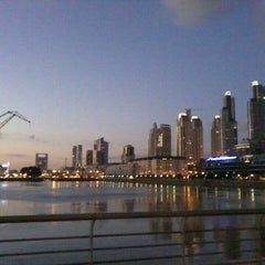 Photo taken at Puerto Madero by Jesica on 4/28/2013