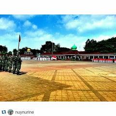 Photo taken at Alun-Alun Kota Serang by Kota S. on 8/17/2015