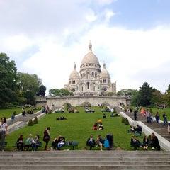 Photo taken at Basilique du Sacré-Cœur de Montmartre by Emily C. on 6/12/2013
