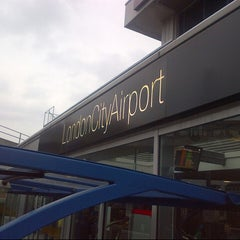 Photo taken at London City Airport (LCY) by Markus E. on 3/25/2013