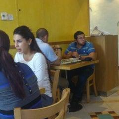 Photo taken at Labneh Wa Zaatar لبنة و زعتر by Ciggie on 10/14/2012