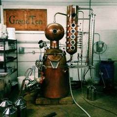 Photo taken at GrandTen Distilling by to cure: on 3/7/2014