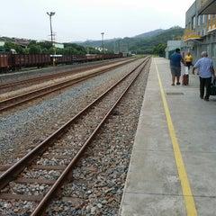 Photo taken at Estação Ferroviária Intendente Câmara (EFVM) by Lourenço G. on 11/27/2014