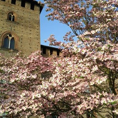 Photo taken at Castello Visconteo by Sara M. on 4/27/2013
