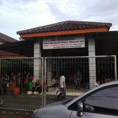 Photo taken at Stasiun Pasar Senen by Putra N. on 6/6/2013