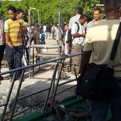 Photo taken at Thilafushi ferry terminal- Thilafushi by Ayiiya M. on 6/26/2013