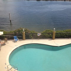 Photo taken at Holiday Inn Express & Suites Tampa/Rocky Point Island by Tasha H. on 4/5/2014