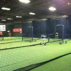 Photo taken at Carmen Fusco Pro Baseball/Softball Academy by Kari L. on 7/2/2013