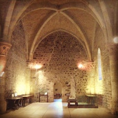 Photo taken at Castello Ursino by Elisa T. on 4/23/2013