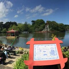 Photo taken at Peasholm Park by Spencer H. on 5/23/2015