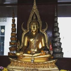 Photo taken at วัดพุทธมงคลนิมิตร (Wat Buddhamongkolnimit) by Poom K. on 1/17/2016