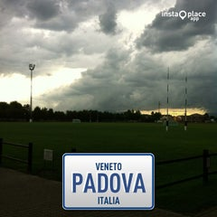 Photo taken at Campi Petrarca Rugby by Antonio P. on 7/29/2013