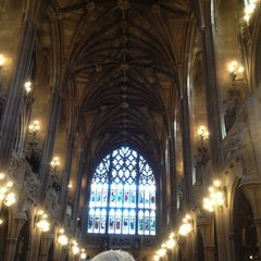 Photo taken at The John Rylands Library by Erinma O. on 10/10/2013