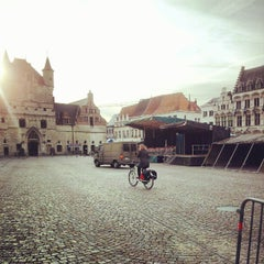Photo taken at Grote Markt by Dirk D. on 9/21/2012