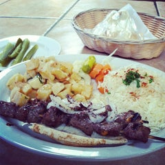 Photo taken at Kabob Grill by in the Queen City on 10/6/2013
