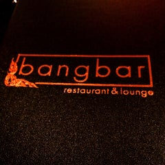 Photo taken at Bangbar Thai Restaurant & Lounge by Mark G. on 1/18/2015