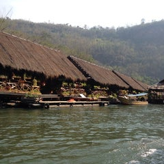 Photo taken at The River Kwai Jungle Rafts by Ladycucumber M. on 1/18/2015