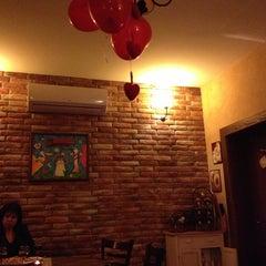 Photo taken at Brick Cafe by Petia I. on 2/14/2013