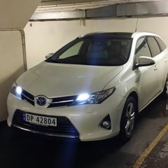 Photo taken at Toyota by Øyvind S. on 1/7/2014