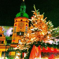 Photo taken at Leipziger Weihnachtsmarkt by Christian K. on 12/9/2012