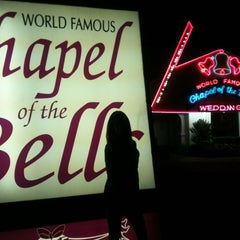 Photo taken at World Famous Chapel of the Bells by Michelle H. on 10/13/2012