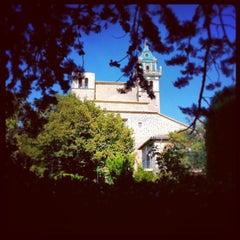 Photo taken at Jardins de la Cartoixa by Juan Pedro R. on 9/1/2013