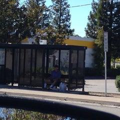 Photo taken at Bus Stop Orlando Transfer Station by Josanne E. on 9/23/2013