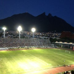 Photo taken at Estadio Tecnológico by Daniel F. on 7/14/2013