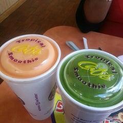 Photo taken at Tropical Smoothie Café by Jennifer L. on 3/7/2014
