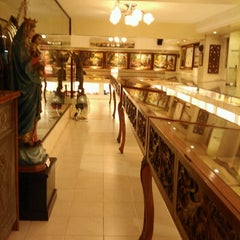 Photo taken at Sto. Niño Museum by Erik G on 12/23/2012