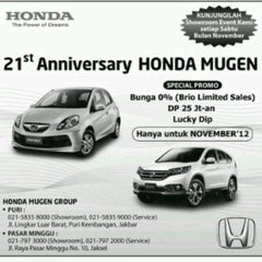Photo taken at Honda Mugen - Pasar Minggu by ajeng p. on 11/8/2012