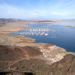 Photo taken at Lake Mead Overlook by Stephanie H. on 12/4/2012
