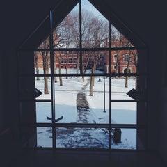 Photo taken at Clark University- Higgins University Center by Demet S. on 1/22/2014
