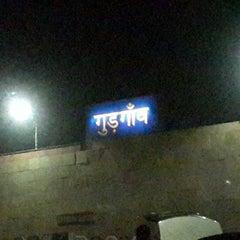 Photo taken at Gurgaon Railway Station (GGN) by Kushagra G. on 5/17/2013