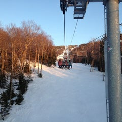 Photo taken at Bolton Valley Resort by Cait C. on 3/9/2013