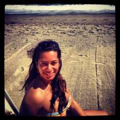 Photo taken at Spiaggia delle Fornaci by Isabella F. on 5/14/2013