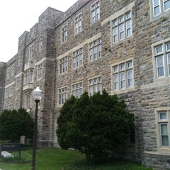 Photo taken at Patton Hall by Chris on 5/5/2013