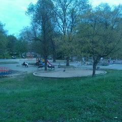 Photo taken at Княжеска градина by Lencheto Z. on 4/27/2013