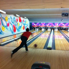 Photo taken at AMF All Star Lanes-Greensboro by D. W. on 7/30/2013