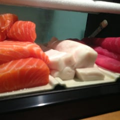 Photo taken at Kaori Sushi Express by Fabian O. on 2/11/2013