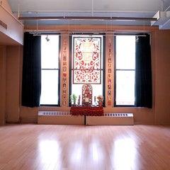 Photo taken at Jivamukti Yoga School NYC by Jivamukti Yoga School NYC on 1/17/2014