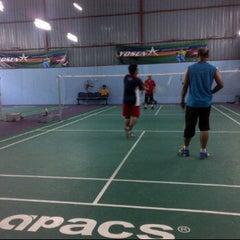 Photo taken at Futsal Masterscaff by muhazam a. on 1/19/2013