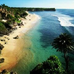 Photo taken at Balangan Beach by Wayan R. on 10/5/2012
