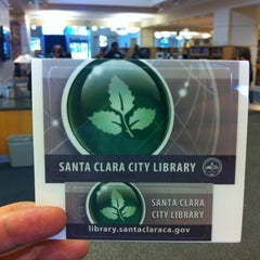Photo taken at Santa Clara City Library by Zexiang on 9/30/2012