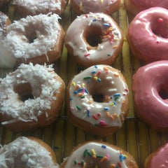 Photo taken at Laurel Tavern Donuts by Paul R. on 4/16/2013