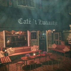Photo taken at Cafe 't Zwaantje by Chris C. on 4/13/2013