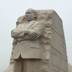 Photo taken at Martin Luther King, Jr. Memorial by Dina on 5/27/2013